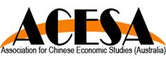 ACESA - Association for Chinese Economic Studies Australia